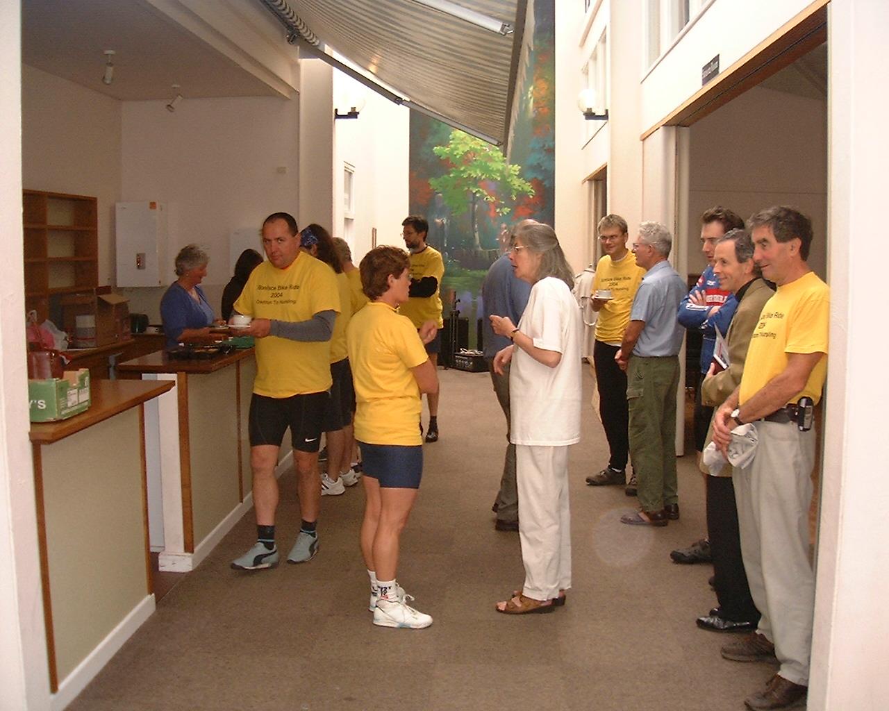 05 - Welcome reception Crediton